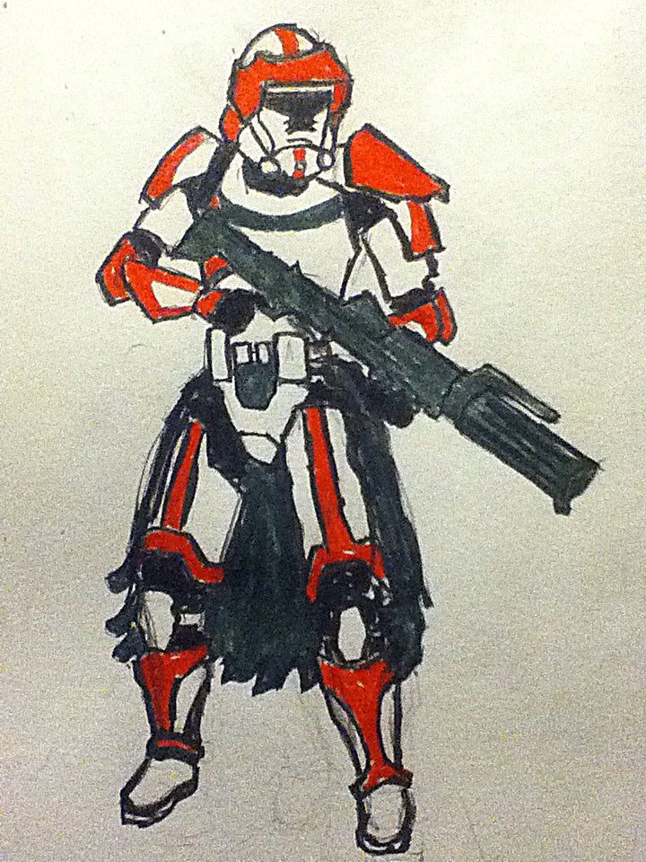 Republic Vanguard: Precursor to the the ARC by protoace