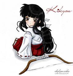 Innocenct Eyes- Baby Kikyou by CrimsonKikyou