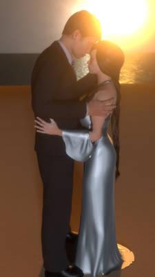 Saori and Sven Wedding Day