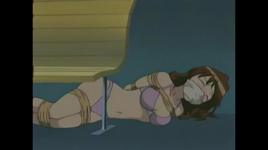 Anime girl tied up 3 by XZbeetleman on DeviantArt