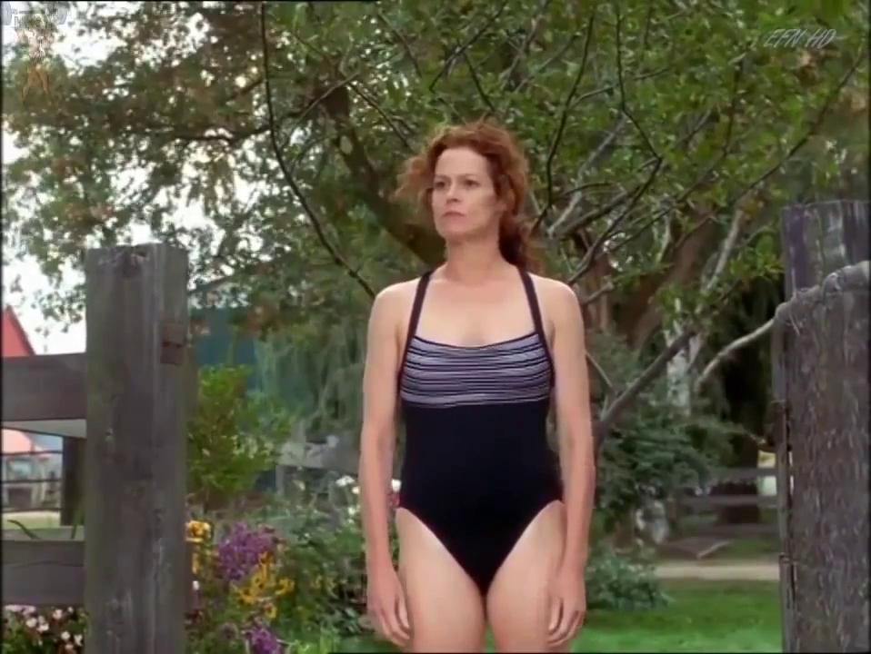 Sigourney Weaver Swimwear