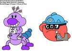 Randall Boggs And Fungus In Super Mario Universe