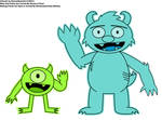 Mike And Sulley In Making Fiends Style