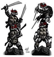 Teenage Mutant Ninja Turtles 4 by paranoidpatriot