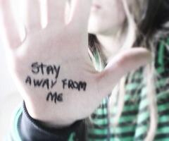 Stay away by xXAngelTHXx