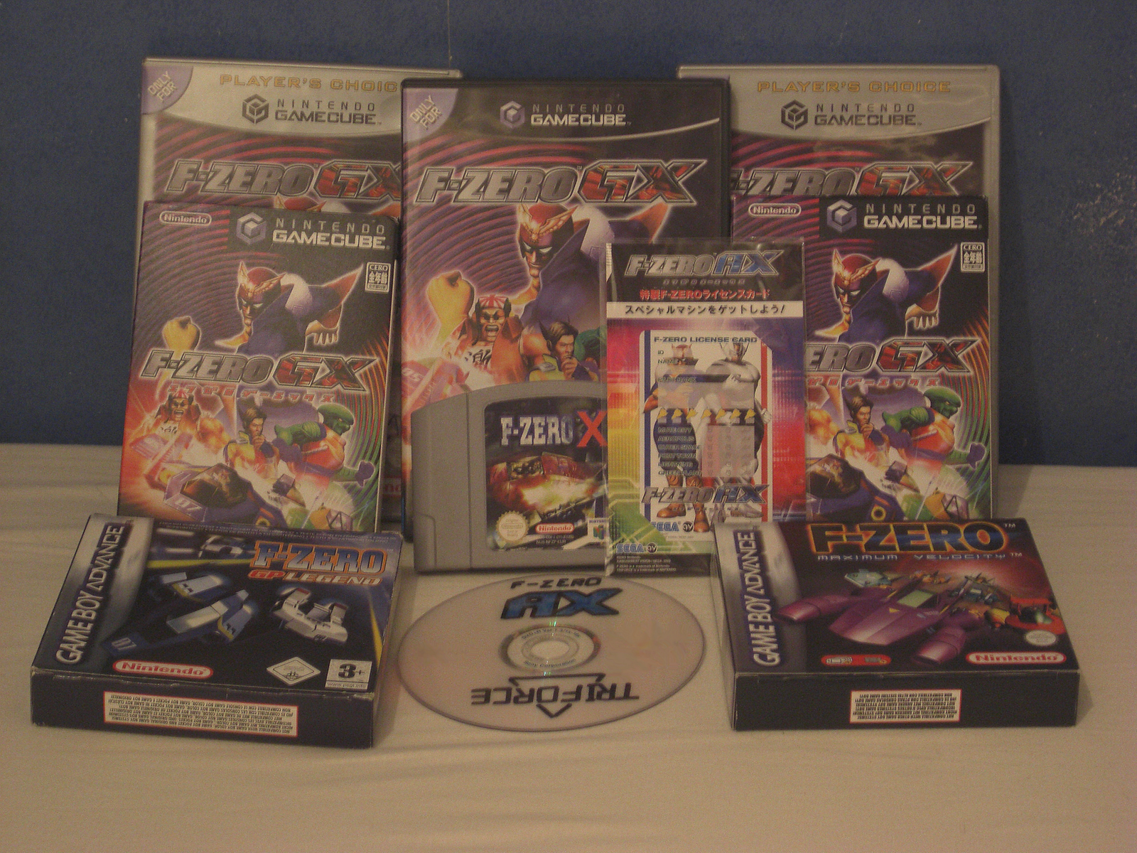 F-zero collection by PortableNetworkGraph