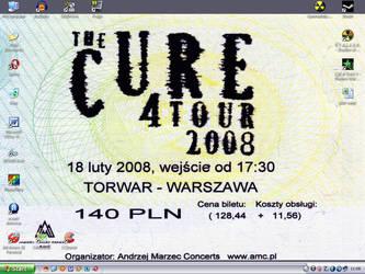 Ticket on desktop