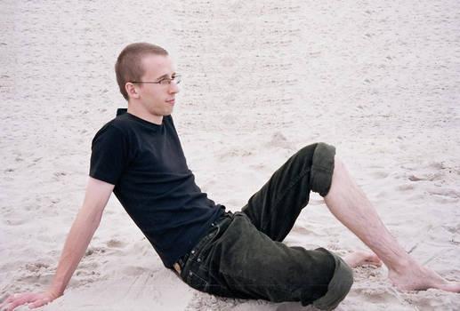 Beach and me...