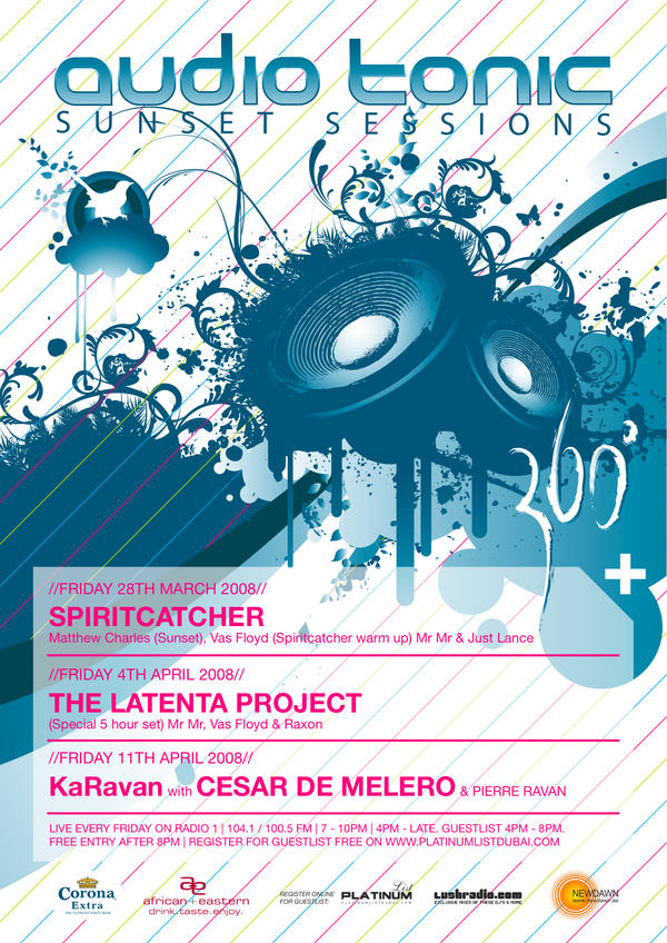 Audiotonic Flyer by ujie