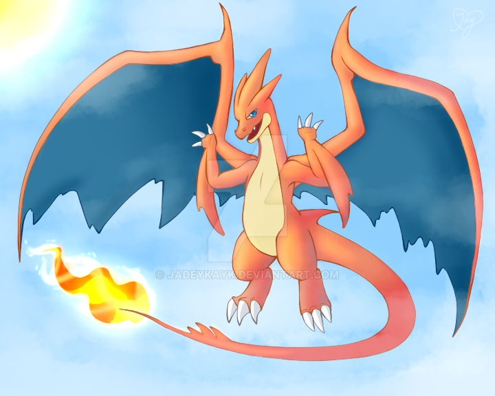 Mega Charizard Y By JadeyKayk On DeviantArt