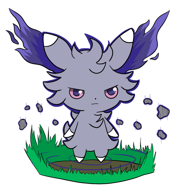 Unrestrained Espurr by KiBoune