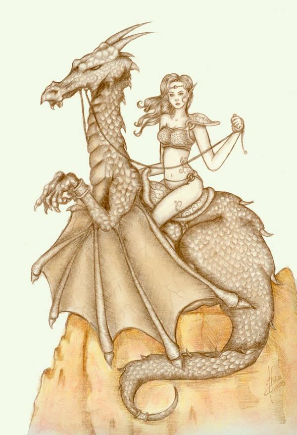 Dragon guardian by ArumaZ