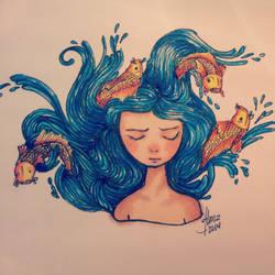 La princesita del mar by ArumaZ