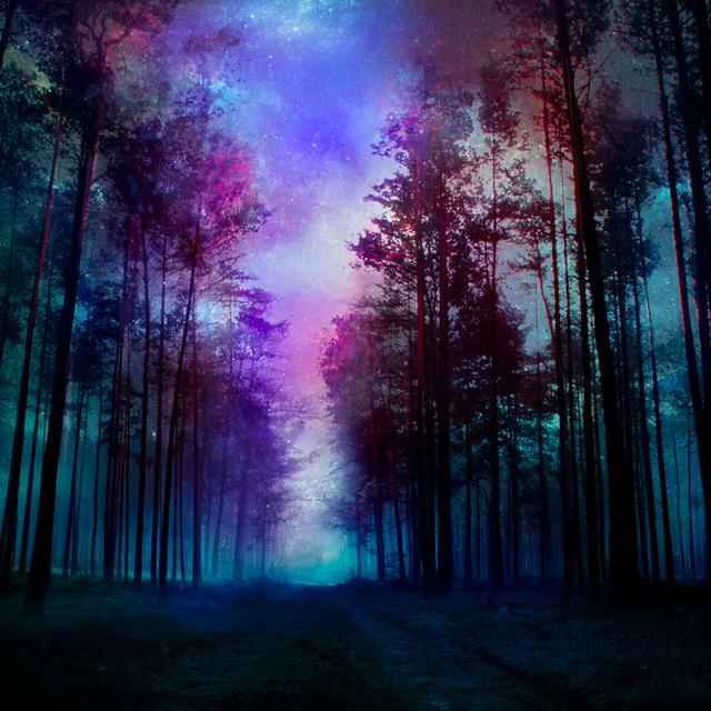 Fantasy Landscape Wallpaper: Night By BaxiaArt On DeviantArt