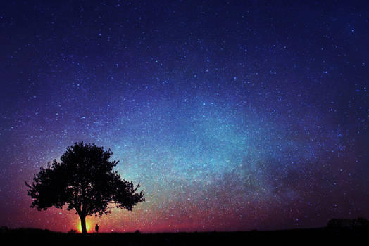 magic sky...