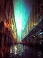 rain impression by BaxiaArt