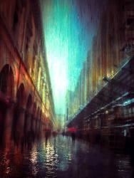 rain impression