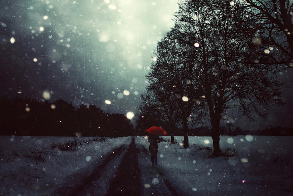 Dark Winter by BaxiaArt