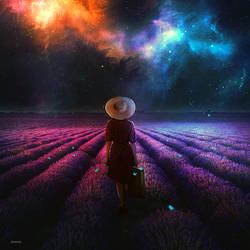 Lavender Dreams by BaxiaArt