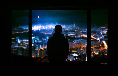 Citylights by BaxiaArt