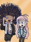 Danganronpa - Yasuhiro and Hiroko