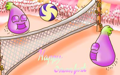 Flipline - Gummy Onion Volleyball by FlippingOcFanatic