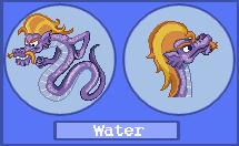 Pokemon-style Sea Serpent by StalinTheStallion