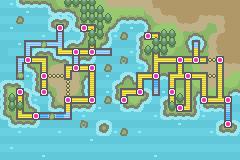 Pokemon Emerald World Map.Pokemon Glazed World Map By Redriders180 On Deviantart