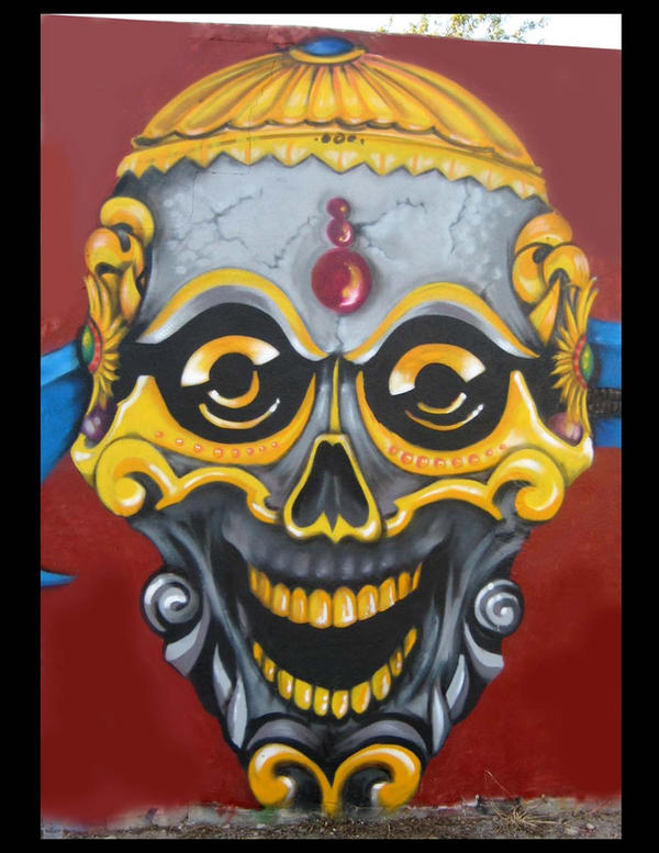 Tibet Style detail by Sprayter