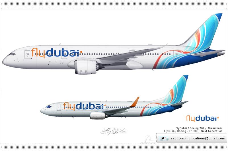 Flydubai Livery concept by SuperstarDeLuxe on DeviantArt