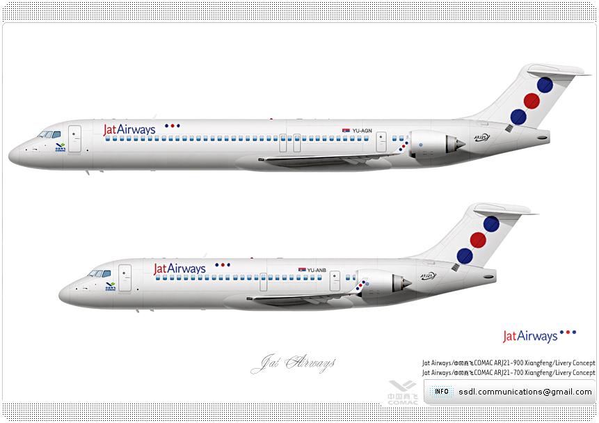 Wallpaper download jat - Jat Airways Livery Concept By Superstardeluxe On Deviantart