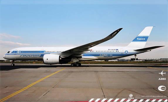 Finnair Airbus A350 XWB Livery concept