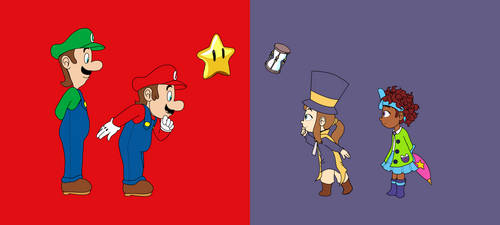Super Mario Meets A Hat in Time by Andalusio