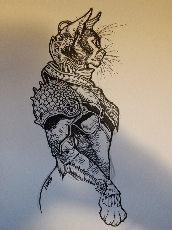 felinus curator by cellaradore