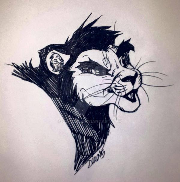 random lion by Dilydu