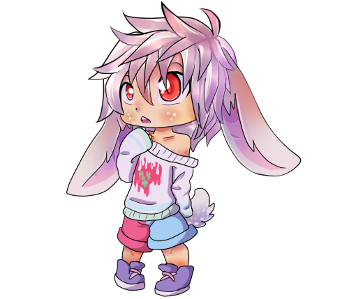 Pastel bunny Adopt by Dragon-Radiation