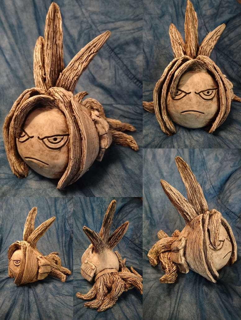 Shaman King: Amidamaru Clay Sculpture