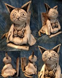 Shaman King: Matamune Sculpture Bookend Part 1