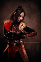 Lady Deathstrike _Warrior with Blood by LanaMarieLive