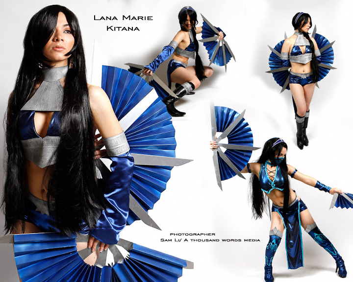 Alternate Kitana - Mortal Kombat 9 by dreamerl85