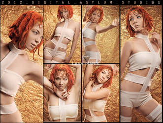 Lee Loo The Fifth Element Cosplay