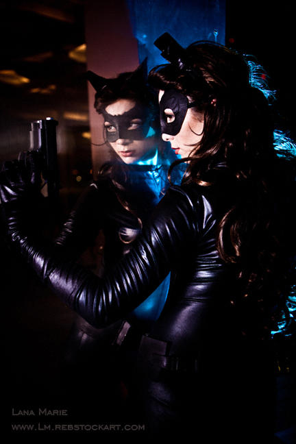 The Dark Knight Rises Inspired Catwoman Cosplay
