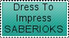 Saberiok Stamp by marcieincooke