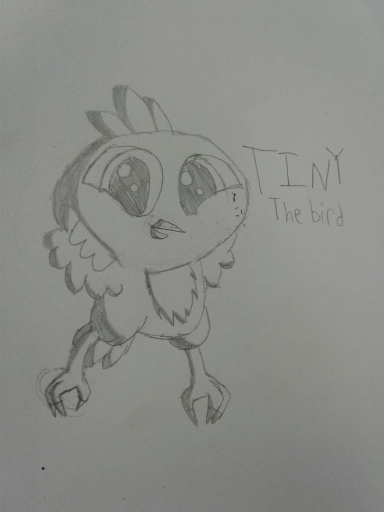 Tiny the bird by MadcapLovesVore