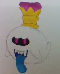 King Boo by Uvulatale