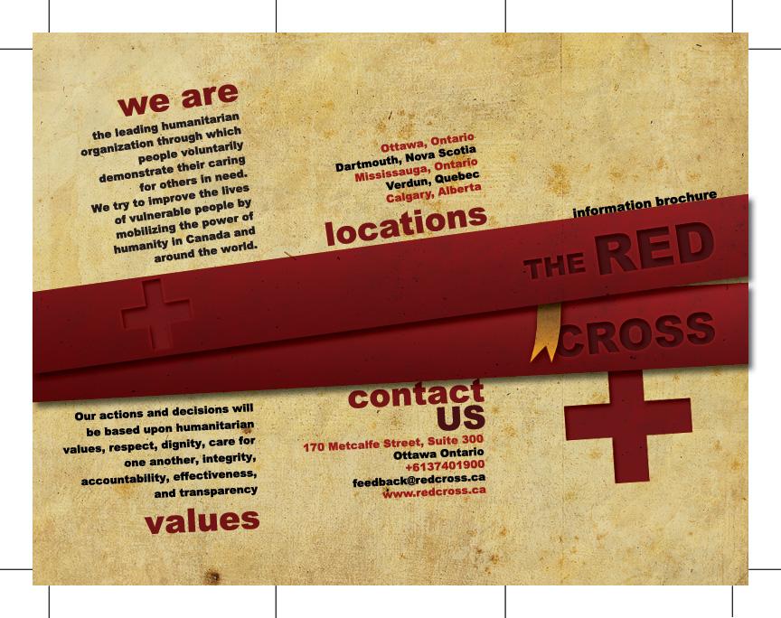 Red Cross Brochure by MattehMatt