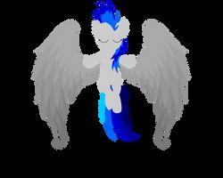 Blue Sky - OC Angel by Eisluk