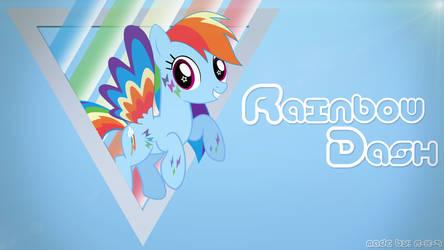 Rainbow Dash Wallpaper by Eisluk