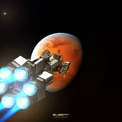 Truman Class Back to Mars by Elric957