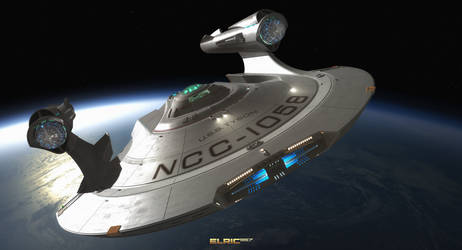 NCC-1058 USS Tyson by Elric957